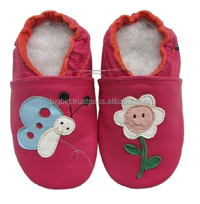 happy star child leather baby shoes 2-3y