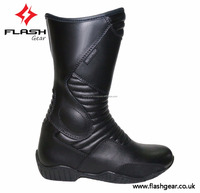 Synthetic Leather ladies Motorcycle boot, best design women biker boot, High Tech lady biker boot ODM Boot Manufacturer Service,