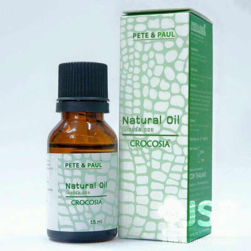Pete&Paul Crocosia Natural Oil 15 ml (Mixed with Tree-tea Oil)