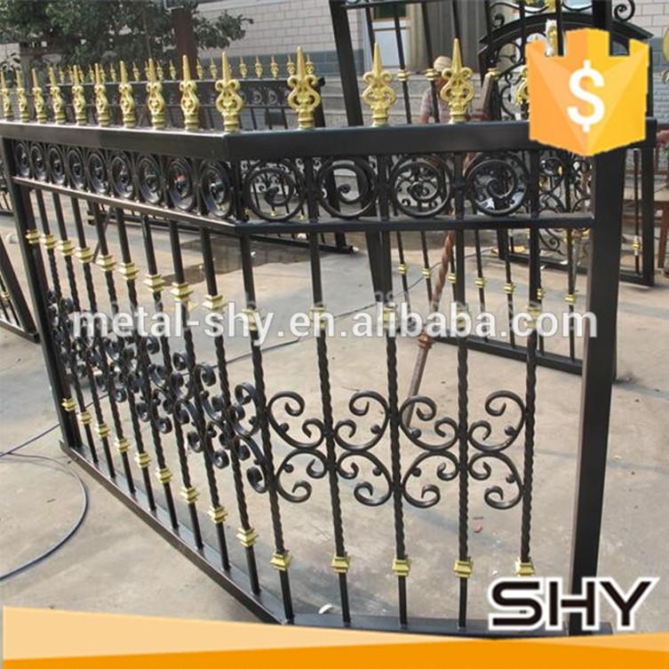 Decoration garden metal iron fence buy decorative
