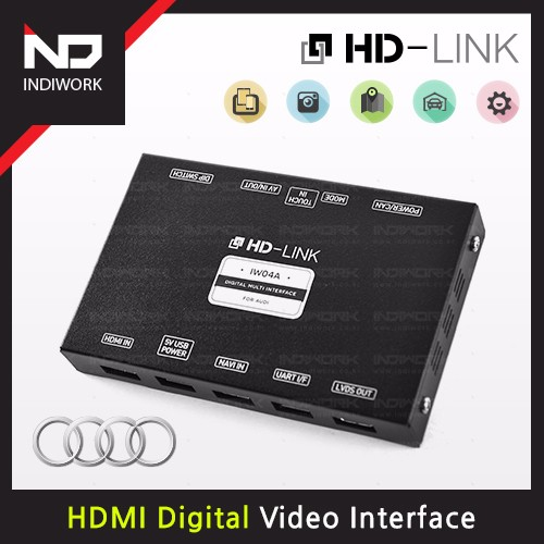[HD-LINK] IW04A-N For AUDI (HDMI Digital Multi Video Interface)