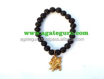 Hindu Dess Lava Beads Bracelet Fency Religious