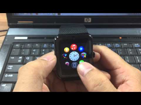 Bluetooth Smartwatch GT08 Smart Watch for iPhone 6/puls/5S Samsung S4/Note 3 HTC Android Phone