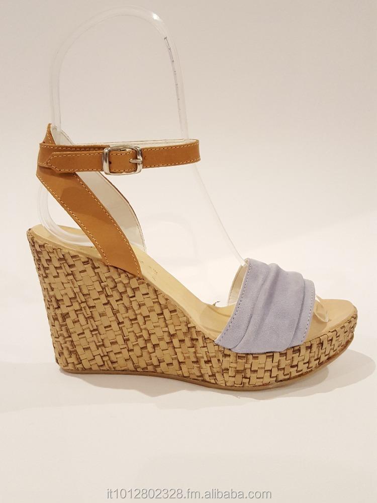 5809aee07 صنع في إيطاليا حذاء المرأة اليدوية حقا 100% صنادل جلدية fatcorty المحرز في  ايطاليا جودة