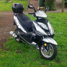 2013 Scooter 50cc mondial big bore 100cc silver and black LS63CZD