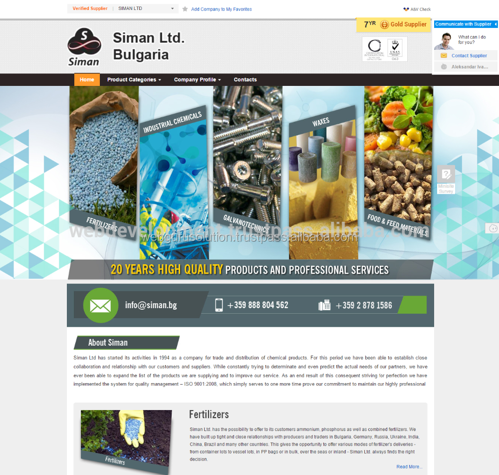 Shopware Website Design for Germany Based Company