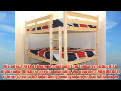 DOUBLE Bunkbed - 4ft 6 TWIN Bunk Bed - VERY STRONG BUNK! - Heavy Duty Use