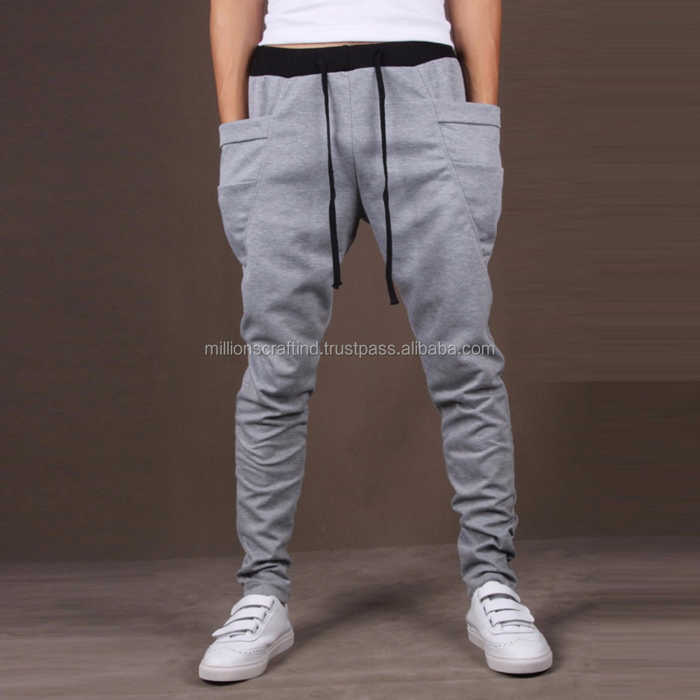 Men/'s Casual Jogger Dance Sport Baggy Harem Pants Slacks Trousers Sweatpants NEW