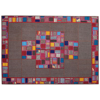 New Patchwork Persian Kilim Rug Modern Style Hand Knotted Area Carpet Unique Design