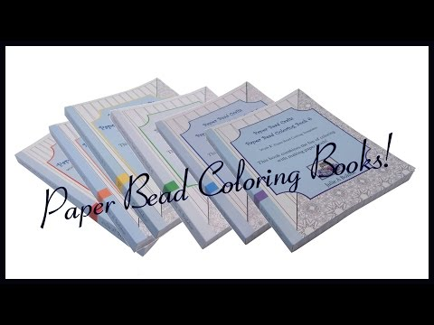 Get Quotations Paper Bead Coloring Books