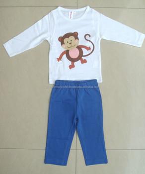 e3b3fb0e03e9 Wholesale Fashion Children Clothes Kids Pajamas Set Clothes baby ...