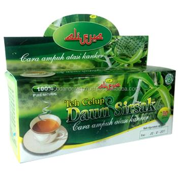 Herbal Supplements Type And Medicinal Dosage From Soursop Tea Bag Graviola Leaf Leaves For Cancer