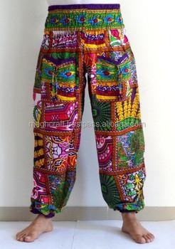 6cd447658 Nuevo 100 Algodón Harem Yoga Pantalones Rectos De Boho Hippie Gypsy  Pantalones Harem Al Por Mayor-impreso Harem Pantalones - Buy Ventas Al Por  Mayor ...