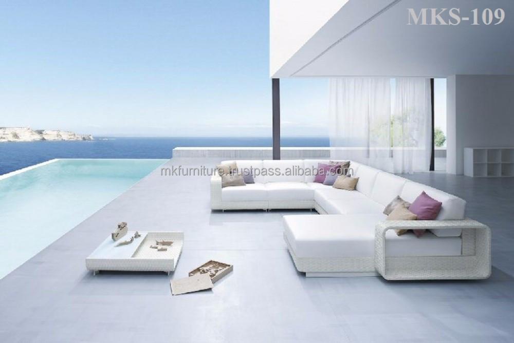 Nueva lujo moderno del sof del jard n muebles poly - Muebles jardin cordoba ...