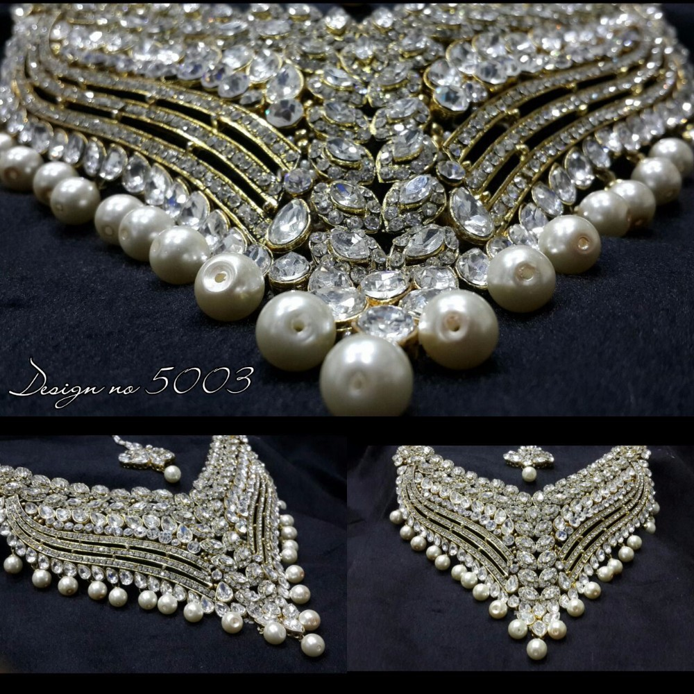 Indian Bridal Pearl Necklace Sets Buy Indian Bridal Pearl