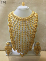 African gold plated jewellery