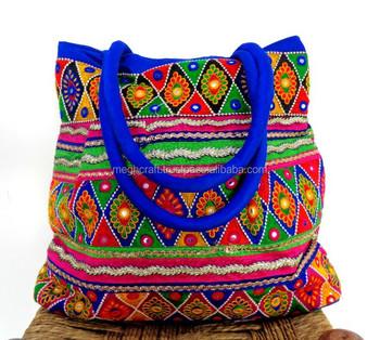 India Traditional Handmade Bags Vintage Banjara Bag Tribal Hand