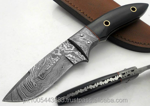 Damascus knife /Damascus Hunting Knife/ fixed blade knife FXD2125