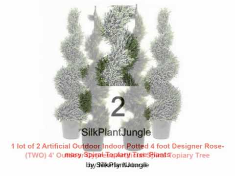 Artificial Spiral Topiary Trees Tips | Artificial Spiral Topiary Trees Guide