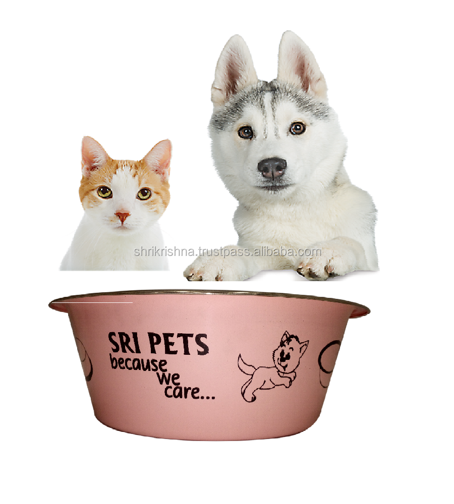 stainless steel bowl pet