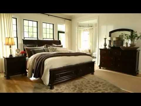 porter sleigh bedroom set ashley furniture quotations bed queen storage by millennium