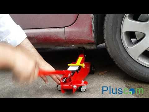 Heavy Duty 2 Ton Car Van Hydraulic Trolley Floor Lifting Garrage DIY Steel  Jack