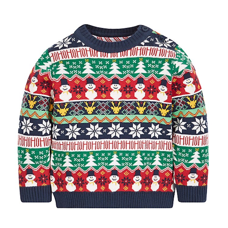 f141e63d4ecd Factory Custom Baby Clothes Wholesale Price Baby Christmas Sweater ...