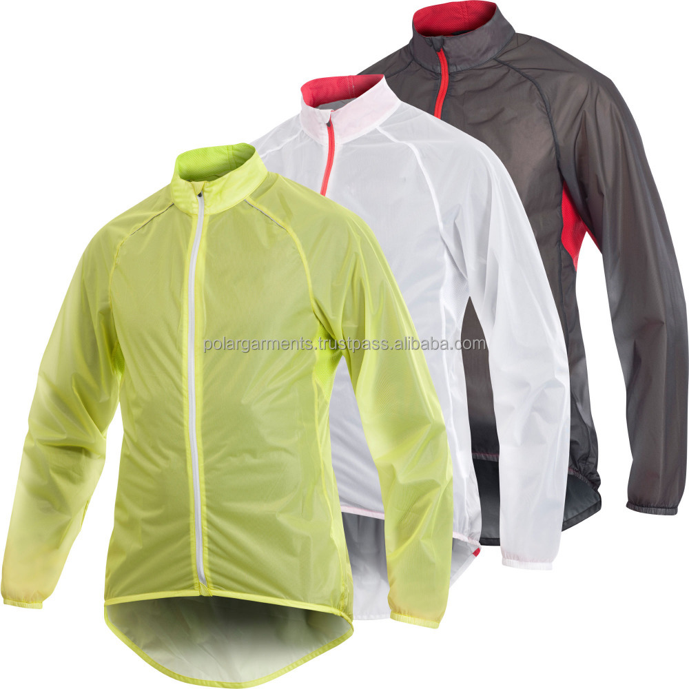 Bike Light Weight Raining Jacket / Lightweight Cycling Rain Jacket ...