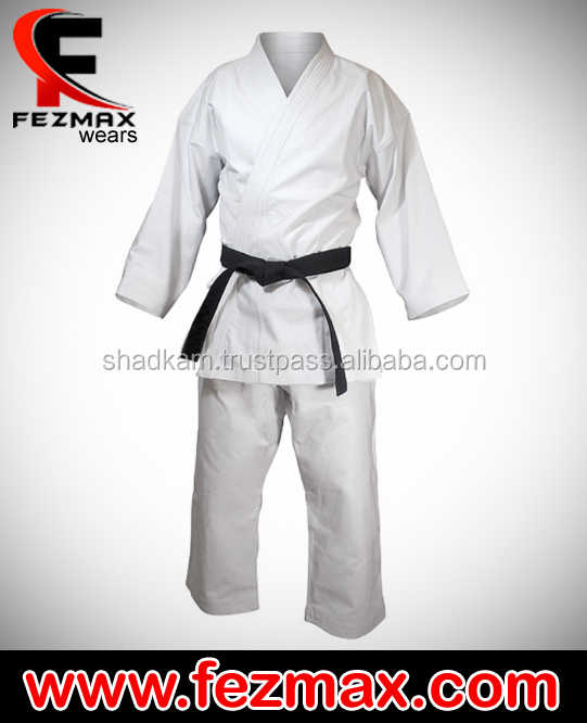 Playwell Judo Blanqueado Blanco Estudiantes Uniforme Niños Trajes Algodón Gis Other Combat Sport Supplies