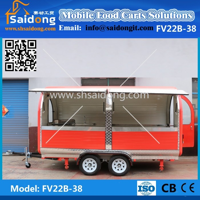 Best Quality Mobile Food Carts For Sale Mobile Kitchen Trailer ...