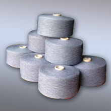Vietnam origin! raw white OE knitted yarn, recycled polyester yarn,100 cotton yarn for working gloves