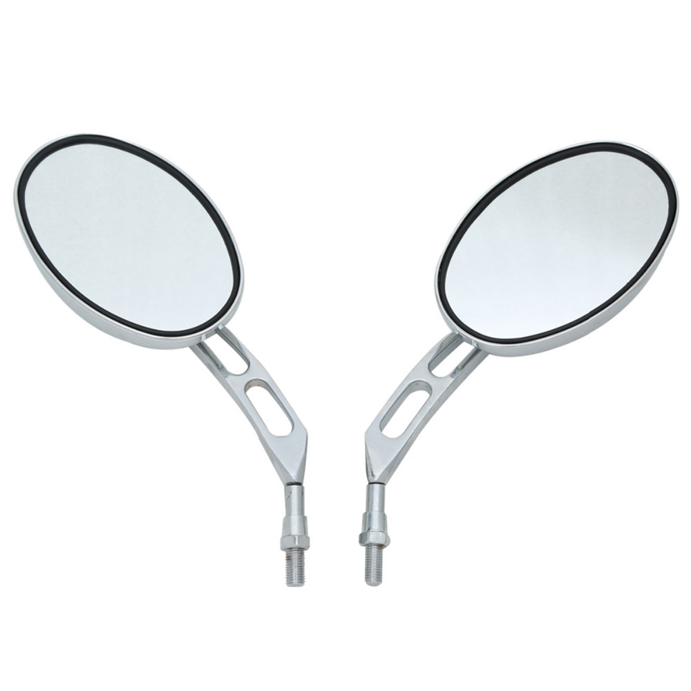 Motorcycle Chrome Side Rear View Mirrors For Honda Chopper New