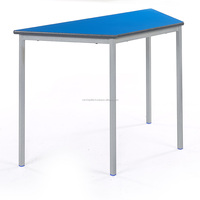 Trapezoid Training School Table
