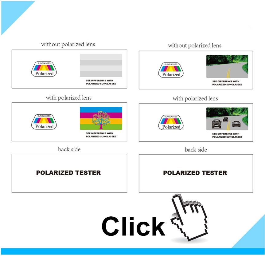 2019 Hot sell rainbow polarized tester With NEW VIP Card - WHITE