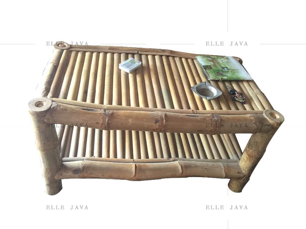Muebles mesa de caf de bamb muebles de bamb al aire - Muebles de bambu ...
