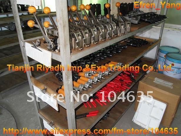 "Manual sealless steel strapping machine SMK-25 for 13-25mm(1/2""-1"") steel strap"