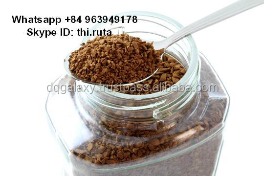 Pure Freeze Dried Instant Coffee - 100% Robusta - Whatsapp +84 963949178
