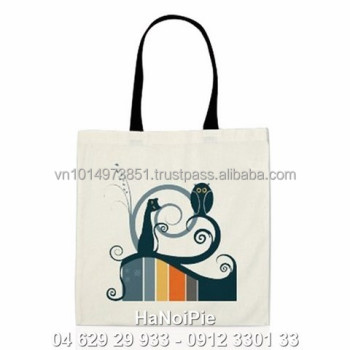 Eco-friendly promotional bag for clients from Organic Cotton Fabric from Vietnam