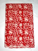 Indian Hand Block Print Fabric Natural Cotton Dressmaking Material