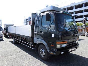 1996 Mitsubishi Fuso Fighter Flatbed Truck / 5.6 Ton / Fk619kz ...