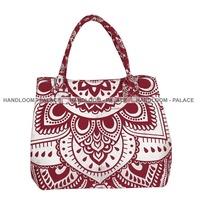 Handbag Shoulder Crossbody Bag Tote Purse Clutch Bag Mandala Ombre Print Indian