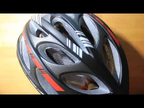 Gonex Road Bike Adult Helmet with Safety LED Light Review/Unboxing