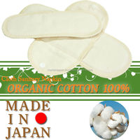 Reusable and washable sanitary napkins in bulk sale for daytime use