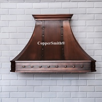 CopperSmith Classic Copper Range Hood