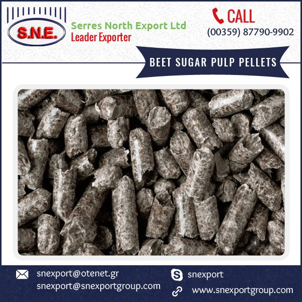 Commercial Quality Beet Sugar Pulp Pellets Available at Lowest Price