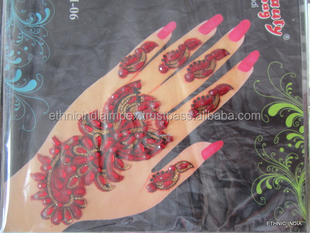 Henna Mehndi Stickers : India henna tattoo stickers wholesale 🇮🇳 alibaba