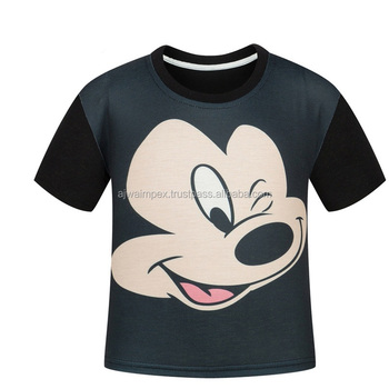 96fcff01 high quality printed t shirt for boys | mickey mouse style printed t shirts