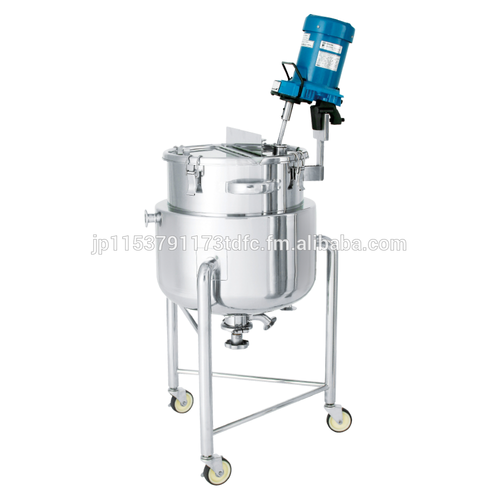 Hard-to-rust temperature control mixing tank for yogurt with custom-made lid
