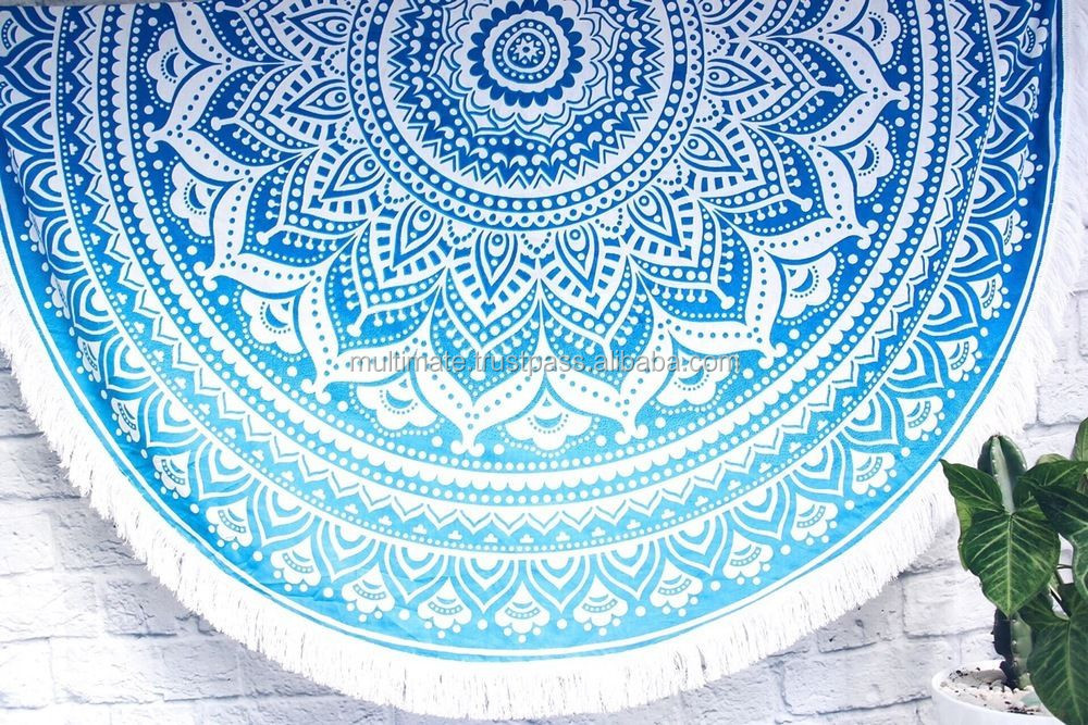 Mandala Tapestry Beach Yoga Mat Towel Bedding Blanket