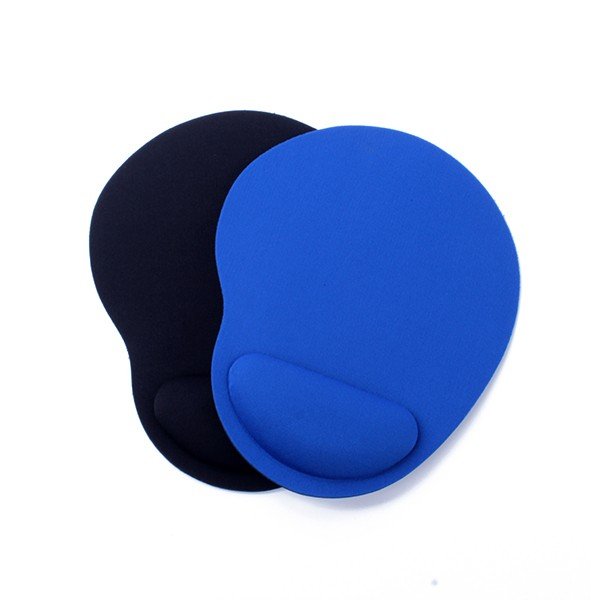 Free Sample Rubber Material Wrist Rest Mouse Pad With Custom Logo For Promotion